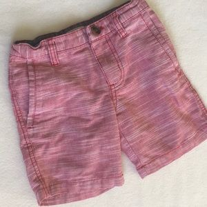 Cat & Jack Soft Red Canvas Shorts 4T